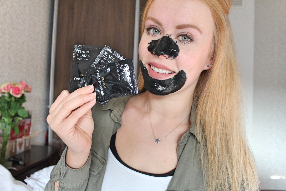 Pilaten blackhead pore strip review