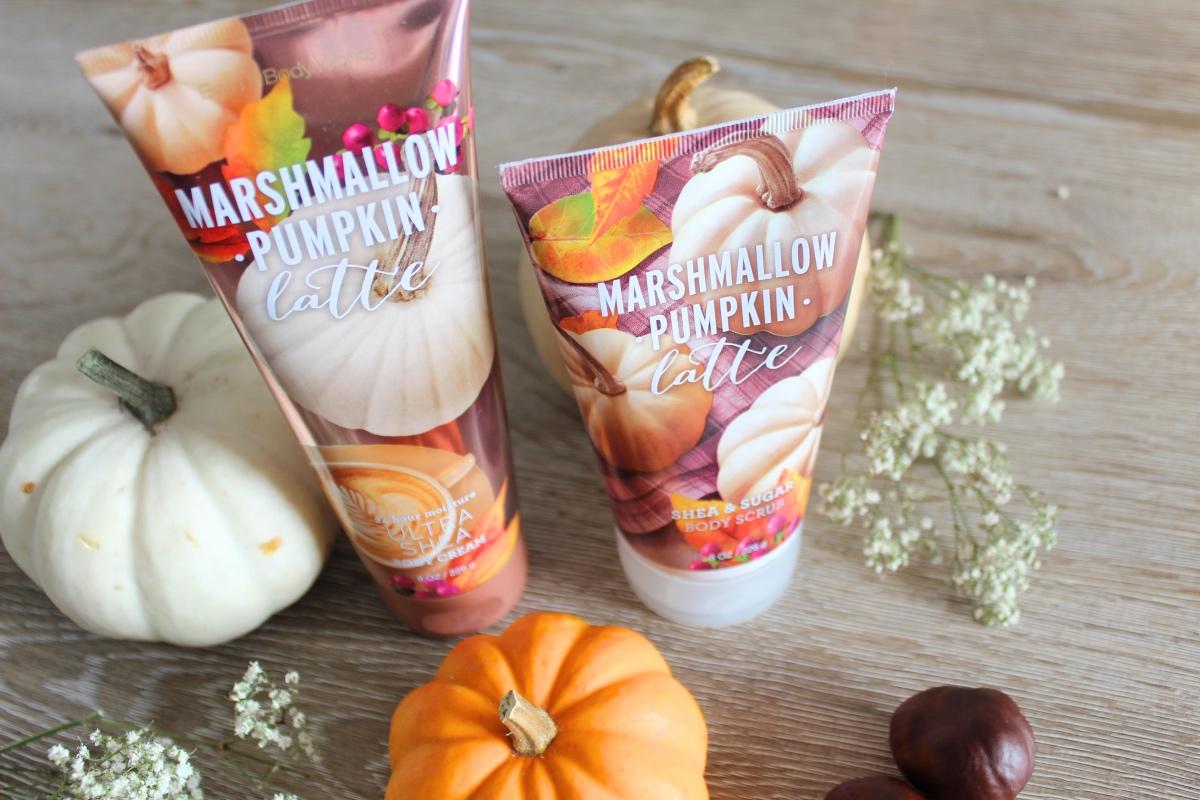 marshmallow pumpkin latte bath bodyworks
