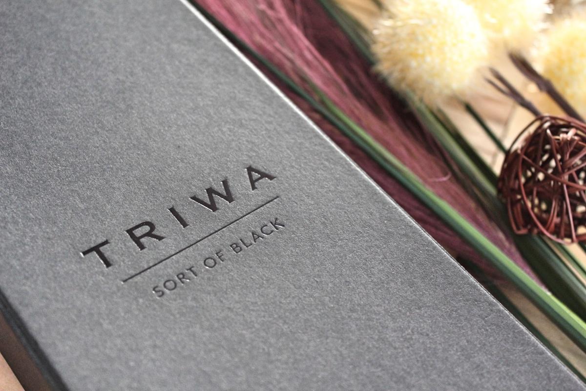 Triwa horloge - sort of black gold
