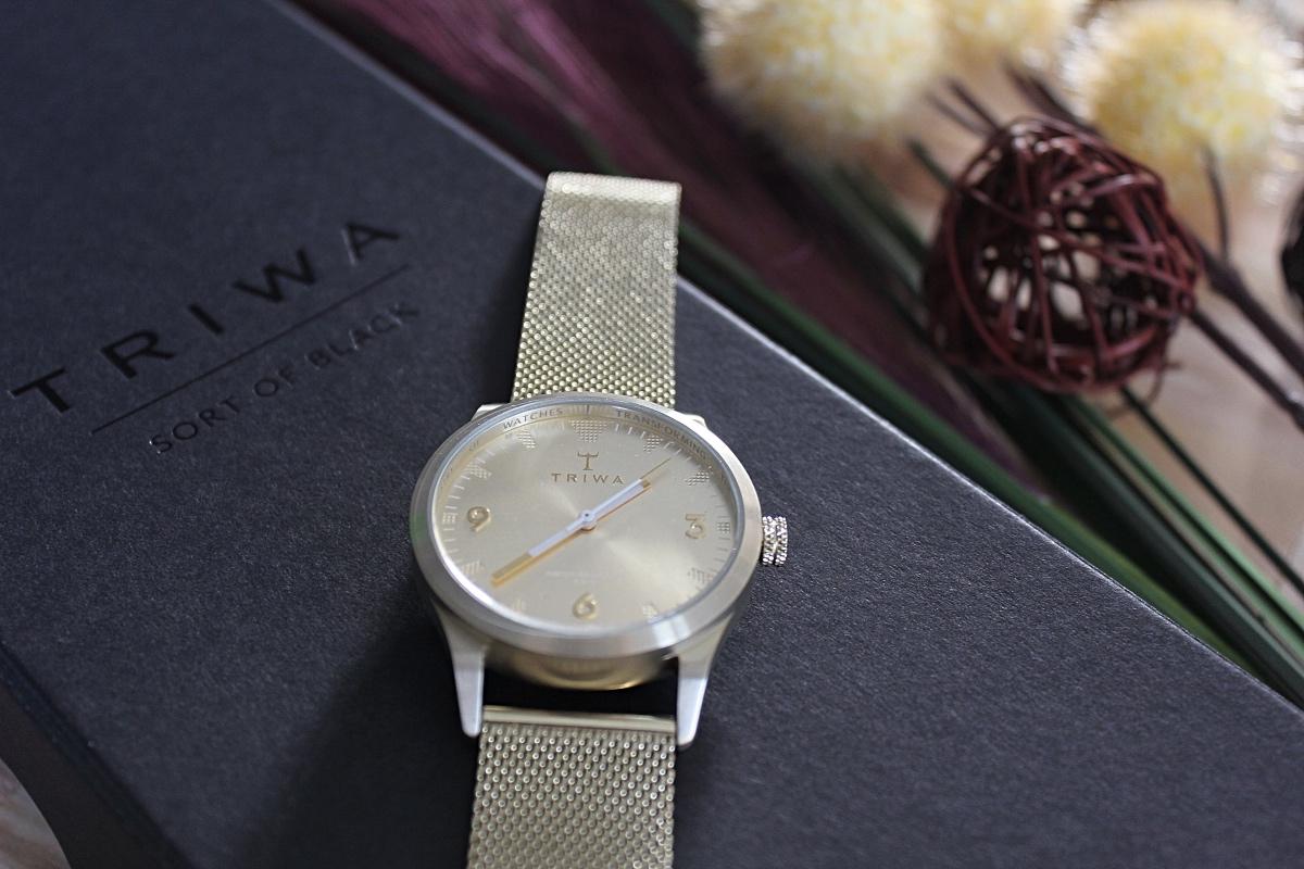 Triwa horloge review sort of black
