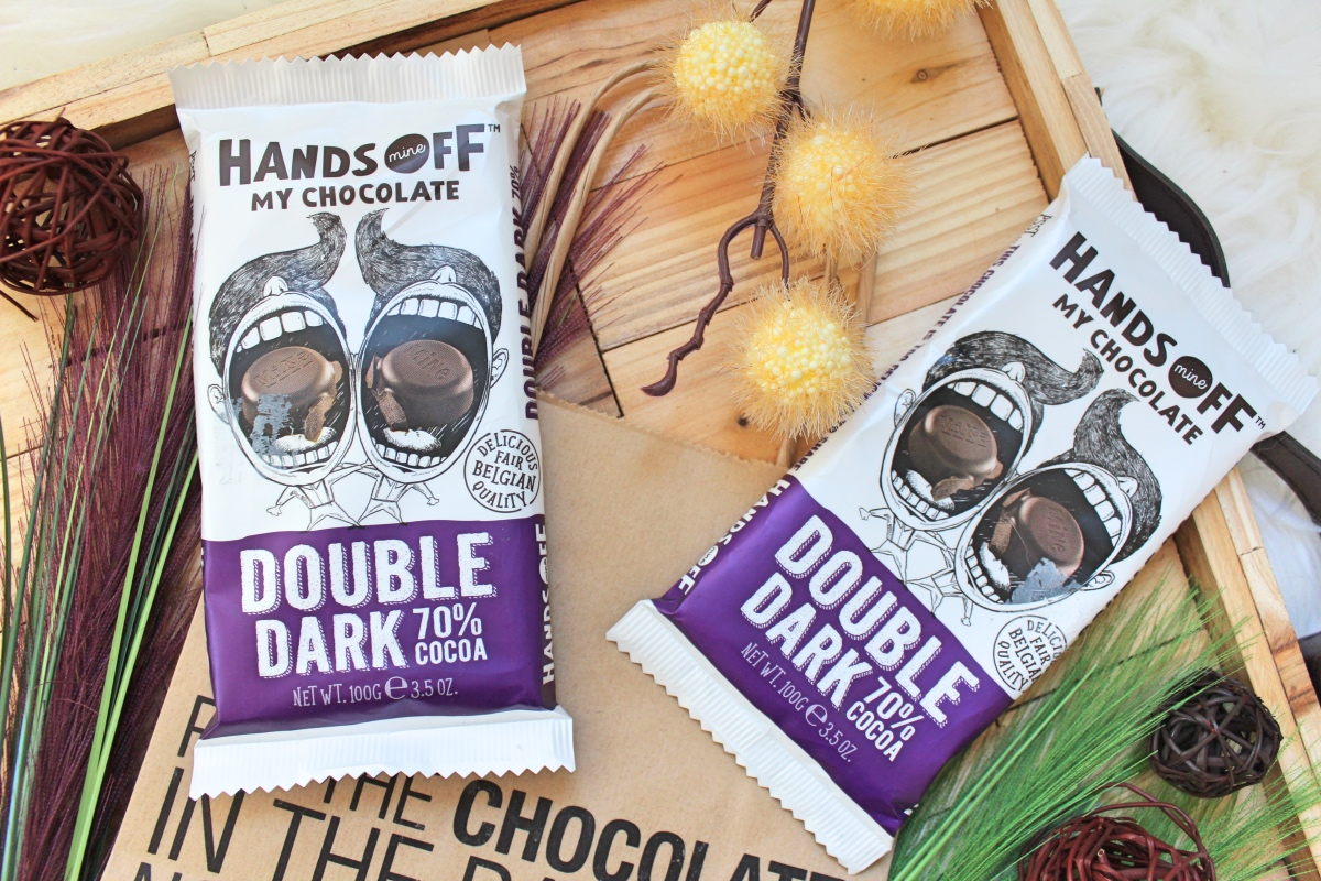 double dark chocolate hands off my chocolate