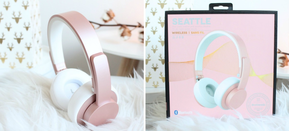 urbanistalife headphone rose gold