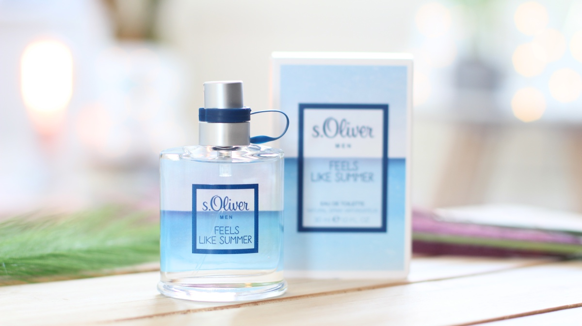 s.Oliver feels like summer men eau de toilette
