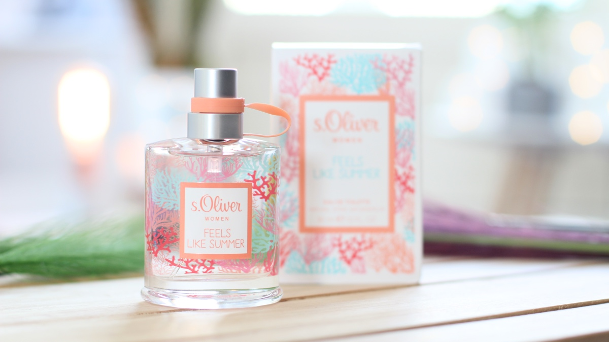 s.Oliver feels like summer Women eau de toilette