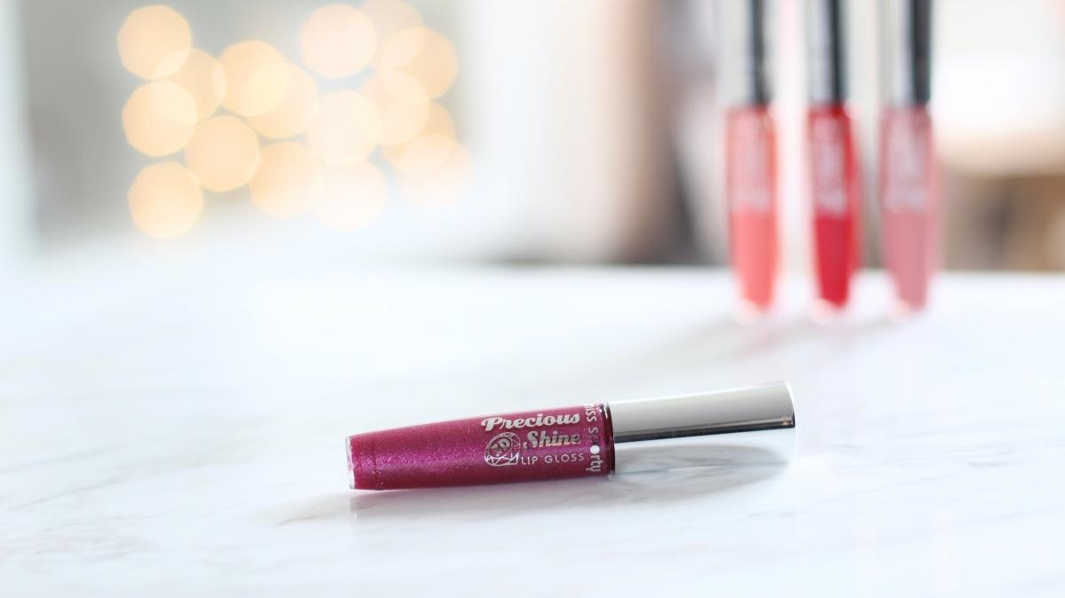 Bling plum Miss Sporty lip gloss