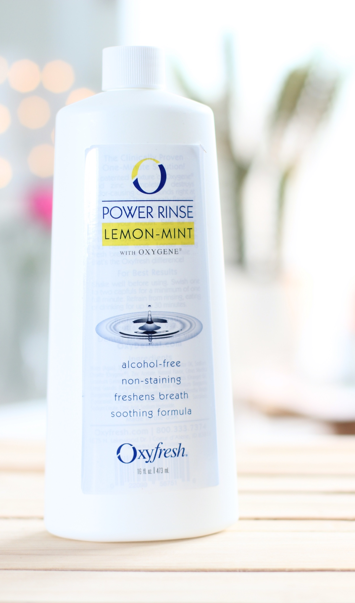 Oxyfresh Lemon-Mint Power Rinse