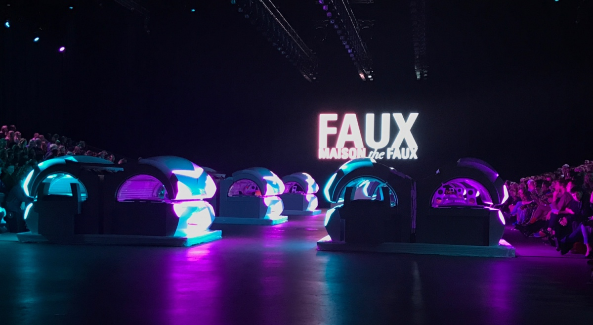 maison the faux fashionweek 2017