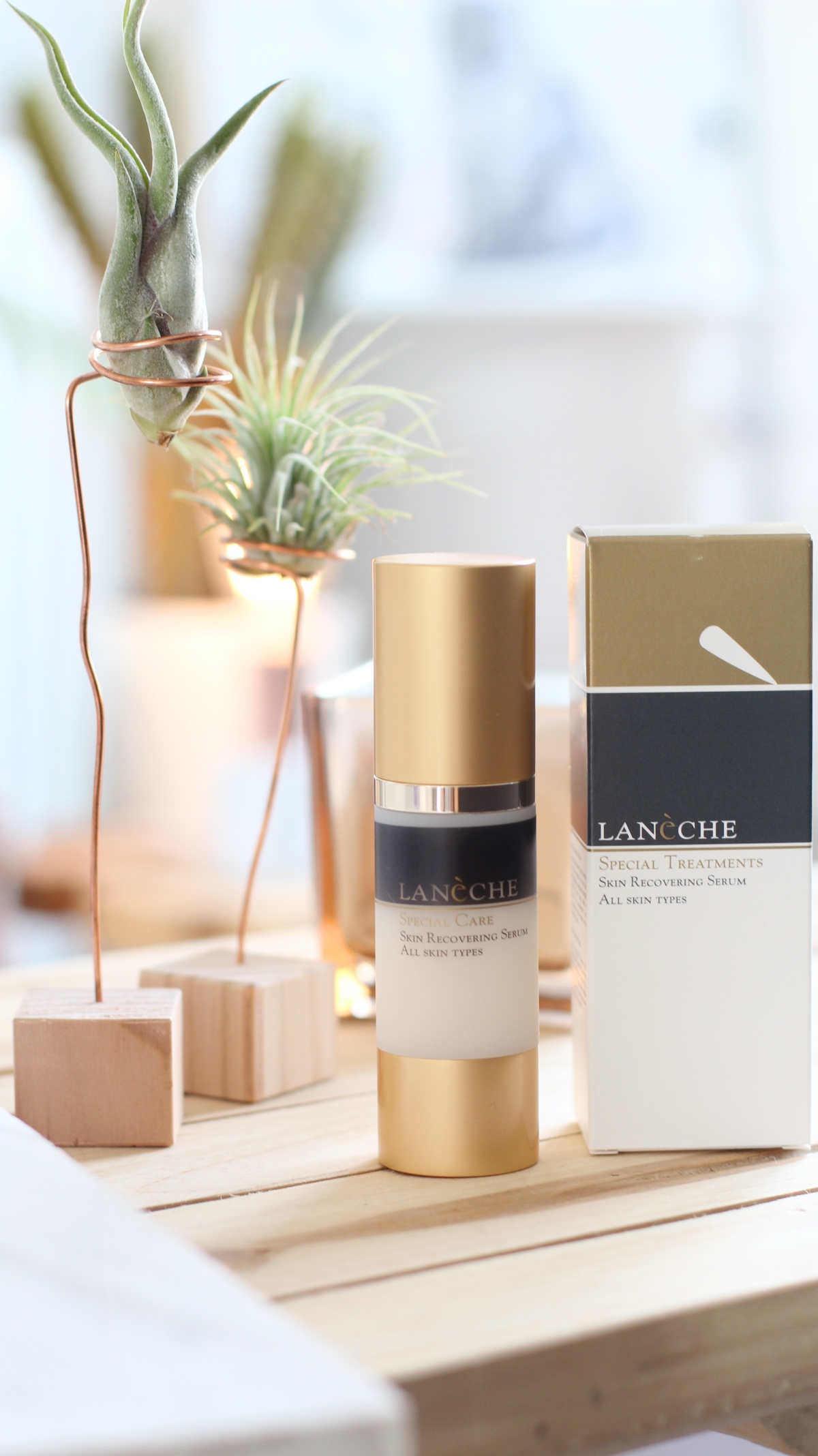 Lanèche special treatments serum & eye make-up remover