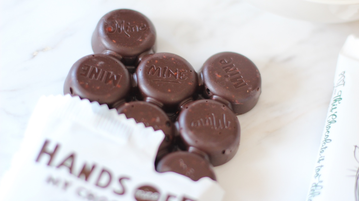 hands off my chocolate hazelnut seasalt cocaonibs