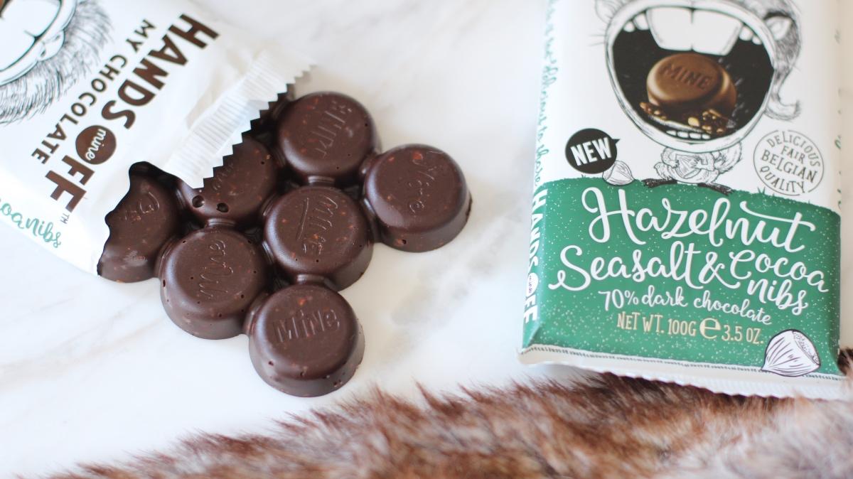 Hazelnut Seasalt & Cocoa nibs | Hands off my chocolate