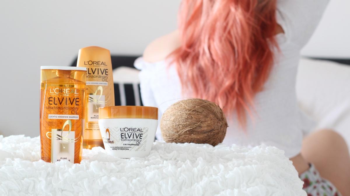 L'Oréal Paris fijne kokosolie haar