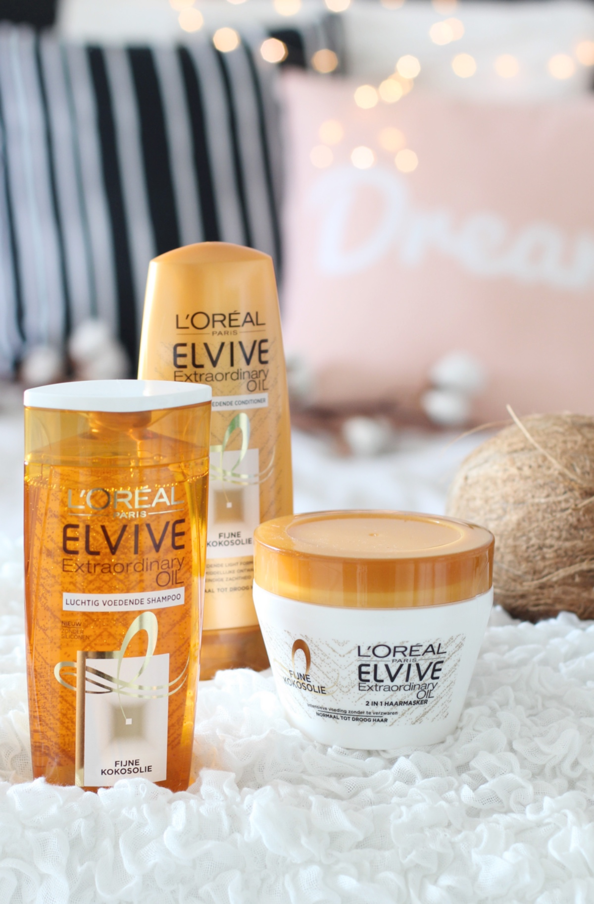 L'Oréal elvive extraordinary oil fijne kokosolie