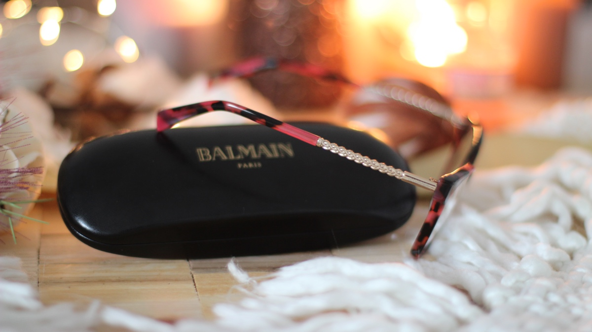 balmain paris glasses