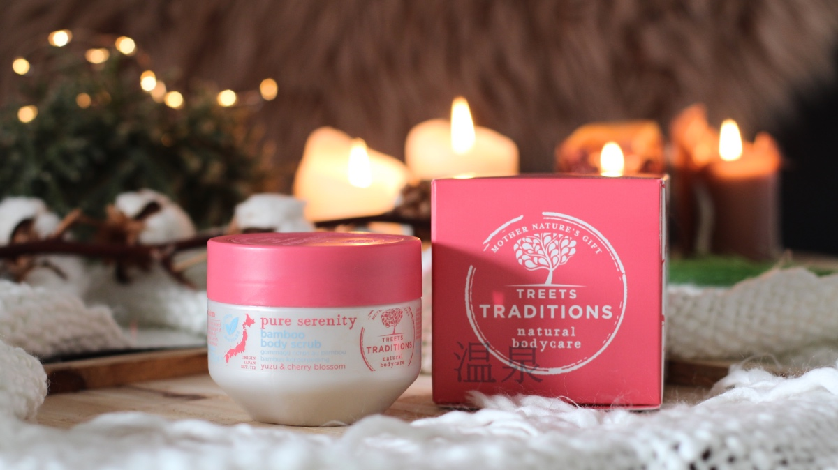 Treets traditions pure serenity bamboo bodyscrub