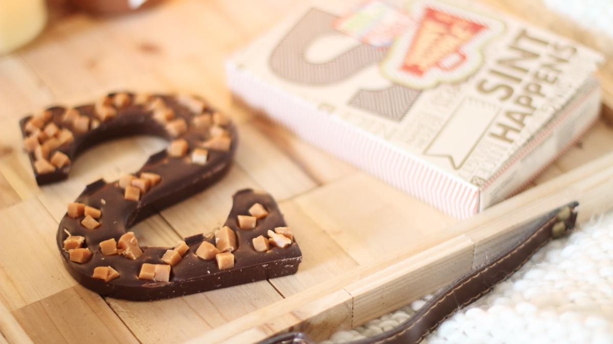 johnny doodle sint happens chocolade letter