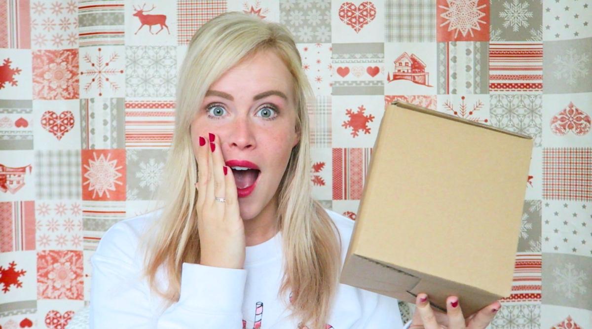 Mystery christmasbox unboxing van Ebay