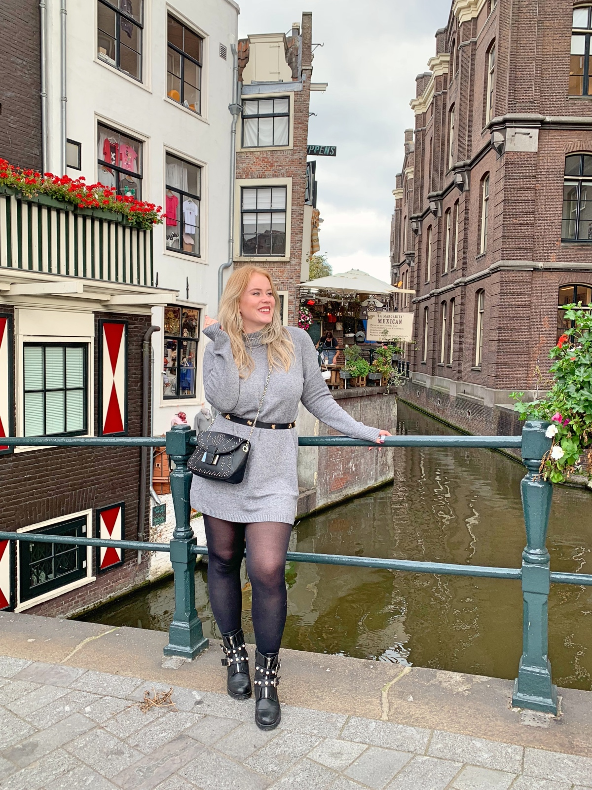 sweaterdress outfit inspiratie 2018